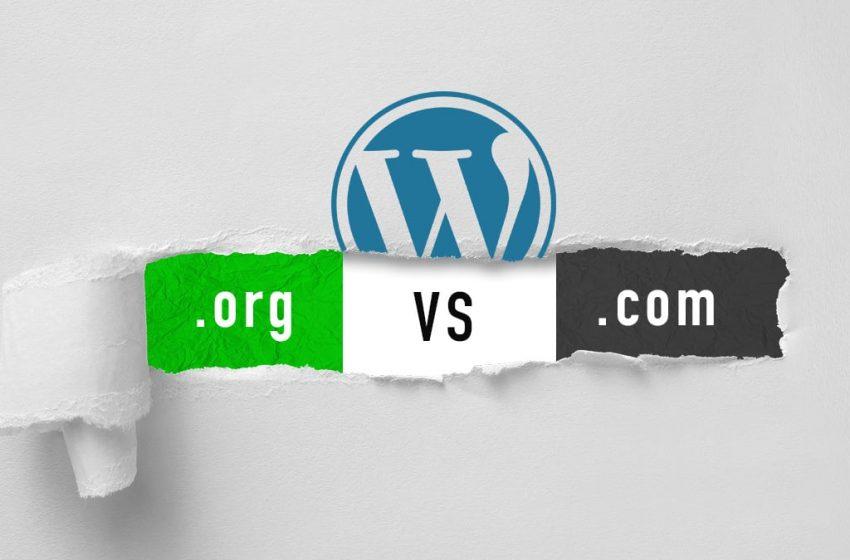Diferencias entre WordPress.org vs WordPress.com ¿Cuál es Mejor?