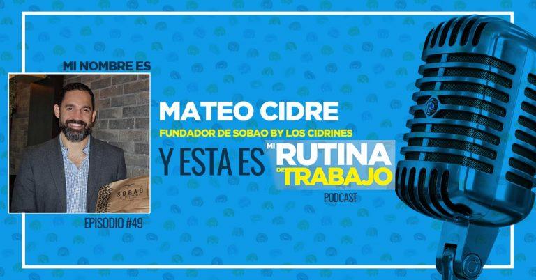 Mateo Cidre, El panadero que reinvento la panadería, Fundador de Sobao
