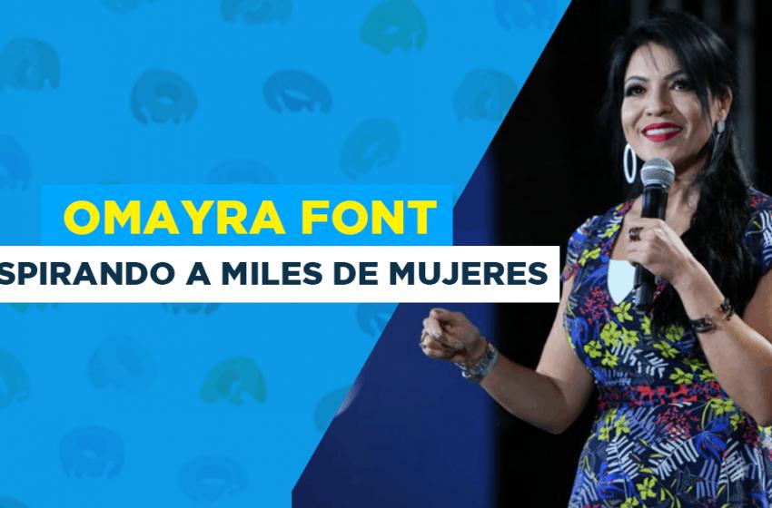 Conoce a la Pastora y Emprendedora en Serie, Omayra Font