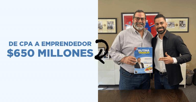 Empresario Puertorriqueño Factura $650 Millones al Año, Raúl Rodríguez